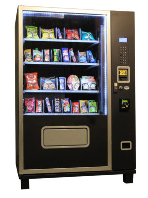 Piranha G432 refrigerated snack vending machine