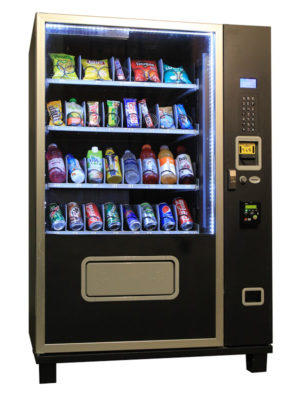 Piranha G432 combo vending machine