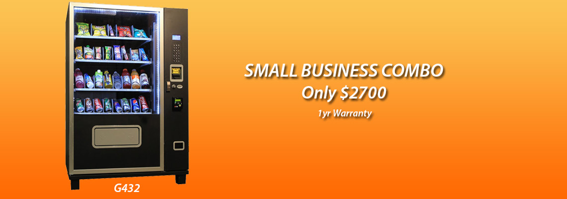 Small Business Combo Vending Machine
